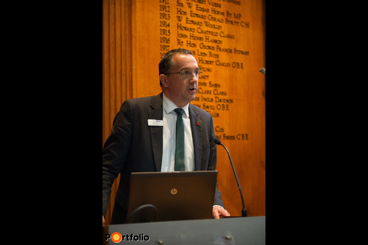 Welcome speech by Mark Walley (Managing Director EMEA, RICS).
